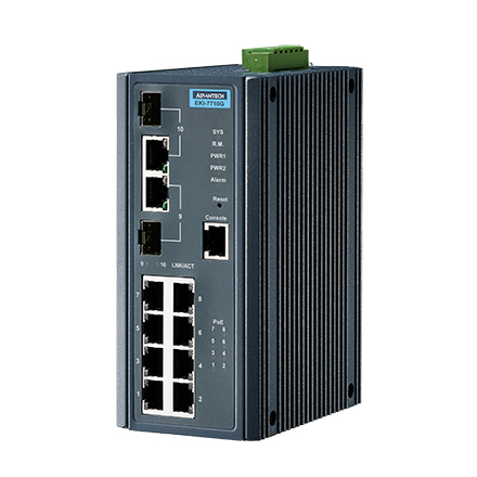Industrial PoE Switches & Solutions